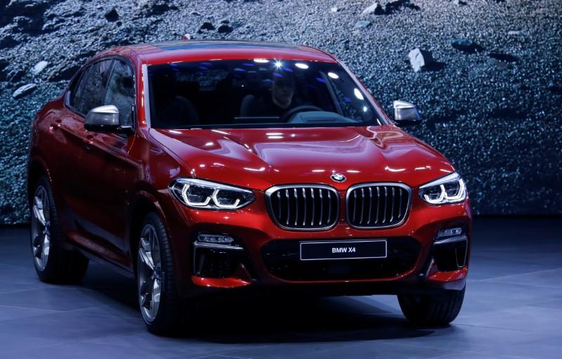 © Reuters. The 88th Geneva International Motor Show