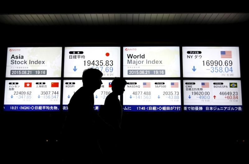 Asian shares trim losses on renewed Sino-U.S. talks; Turkey, China worries weigh
