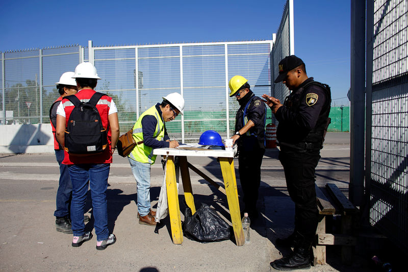 Mexico offers to buy debt of canceled airport, but work continues