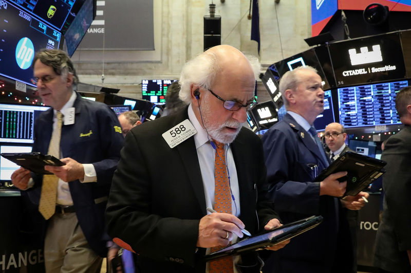 Wall Street drops on trade truce doubts, bond market jitters By Reuters