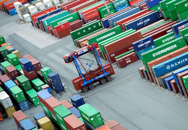 Hamburger Hafen will Container mit Schallgeschwindigkeit befördern