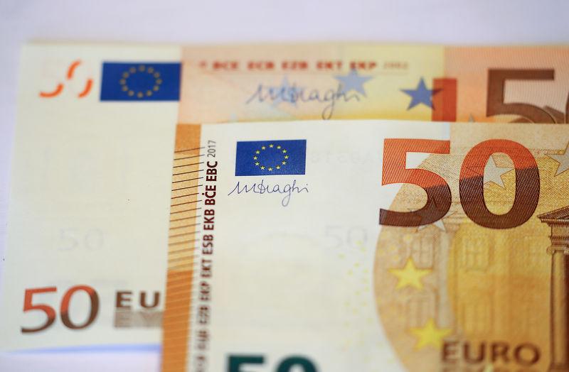 © Reuters. Notas de euro