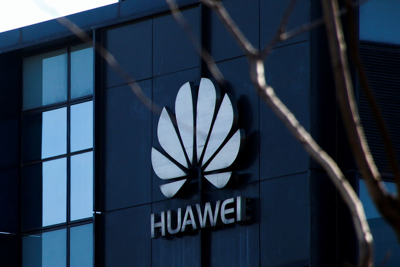 © Reuters. La sede di Huawei a Pechino