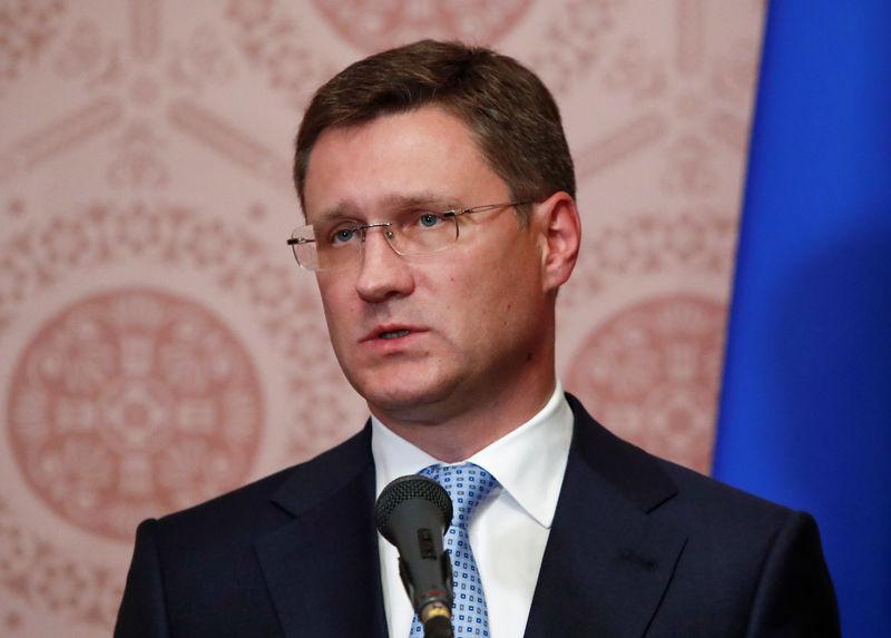 © Reuters. أوبك تنتظر روسيا قبل البت في مستوى خفض إنتاج النفط