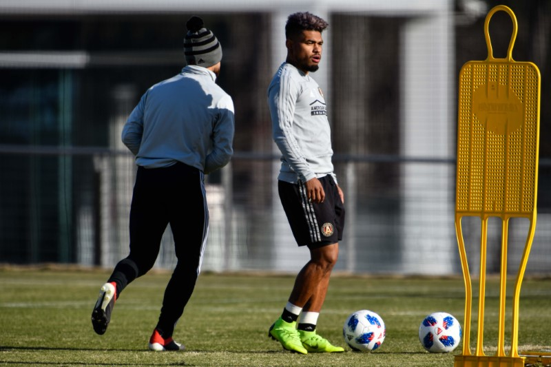 © Reuters. MLS: MLS Cup-Atlanta United Training