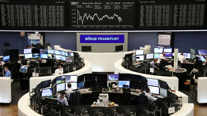 Investors ditch European stocks, BASF slides on profit warning