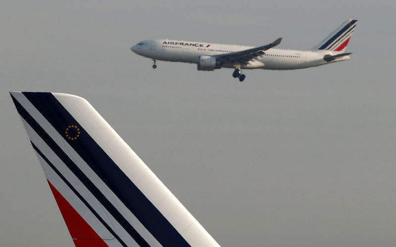 © Reuters. AIR FRANCE NOMME ANNE RIGAIL COMME DG DE LA COMPAGNIE