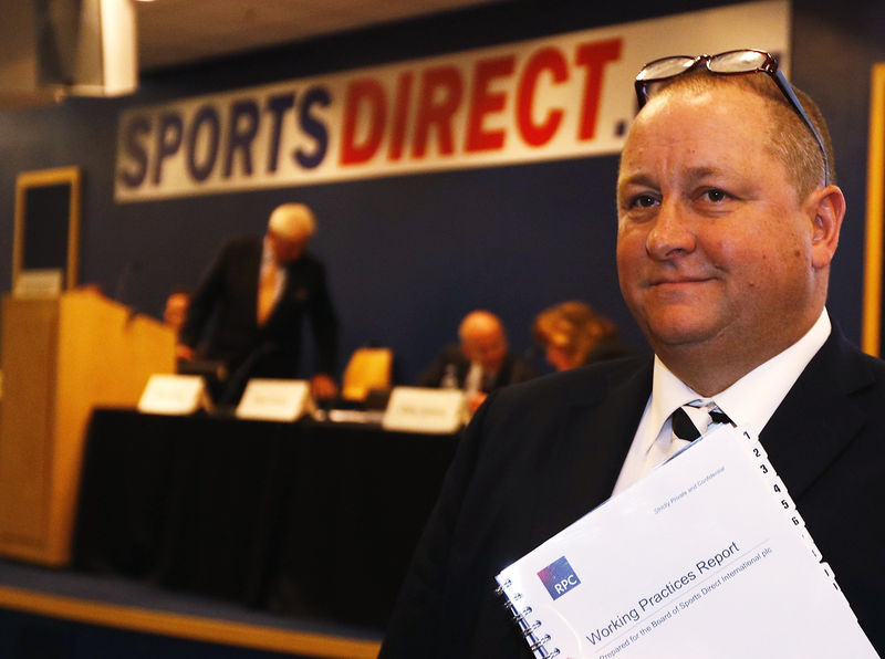 Sports Direct's Ashley sounds alarm on UK retail
