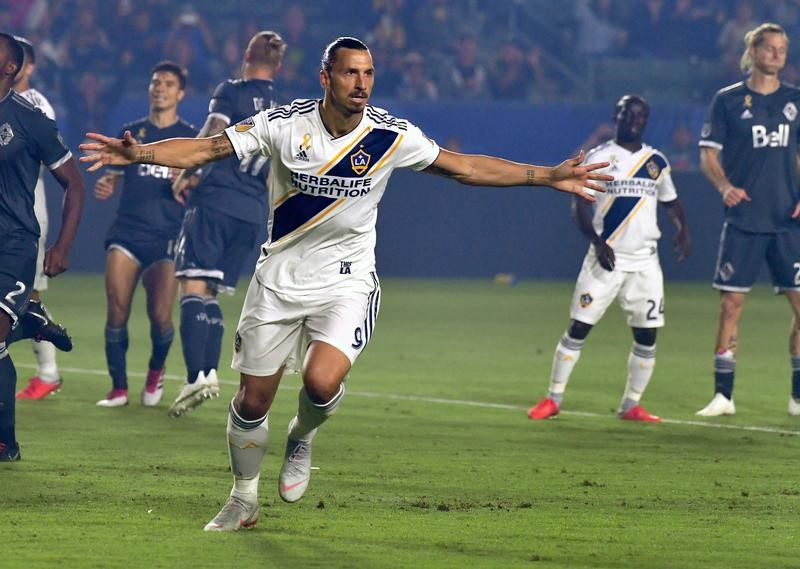 Ibrahimovic Not Finished Yet With Mls Re Signs With La Galaxy By Reuters