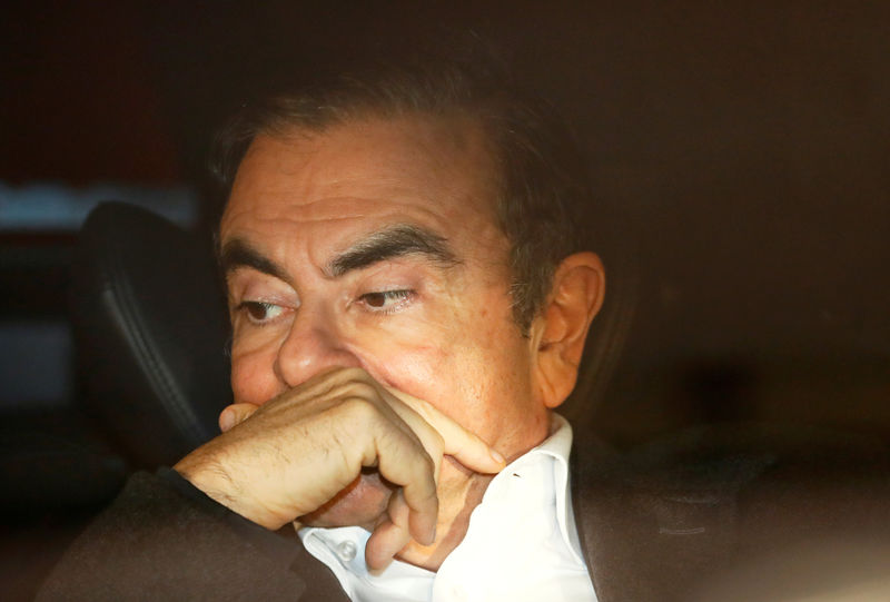 Japan court blocks ex-Nissan boss Ghosn from attending board meeting