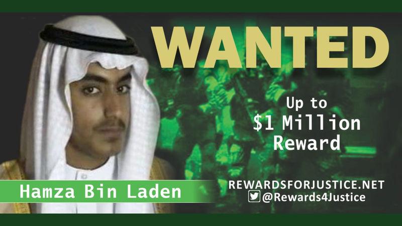 Osama bin Laden's son Hamza killed in U.S. raid, Trump says By Reuters