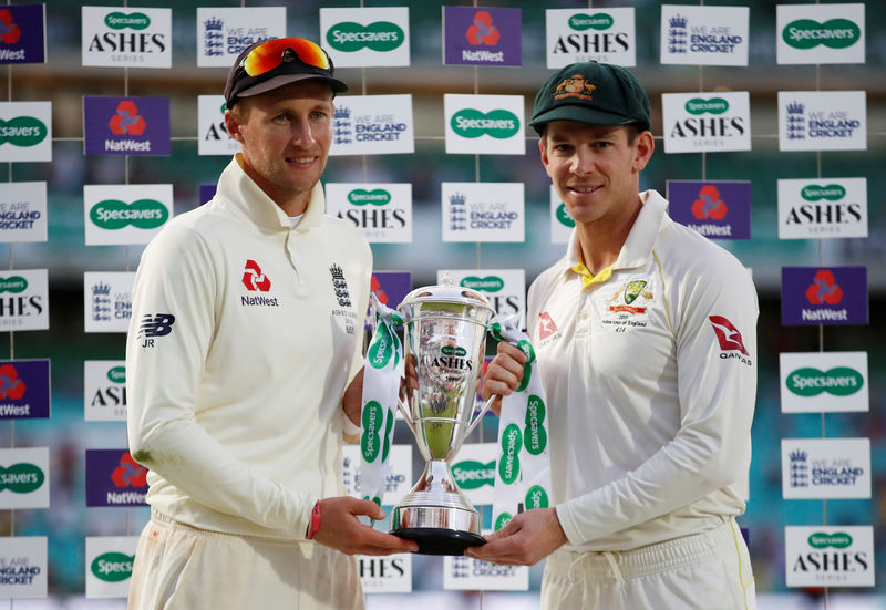 © Reuters. Ashes 2019 - Fifth Test - England v Australia