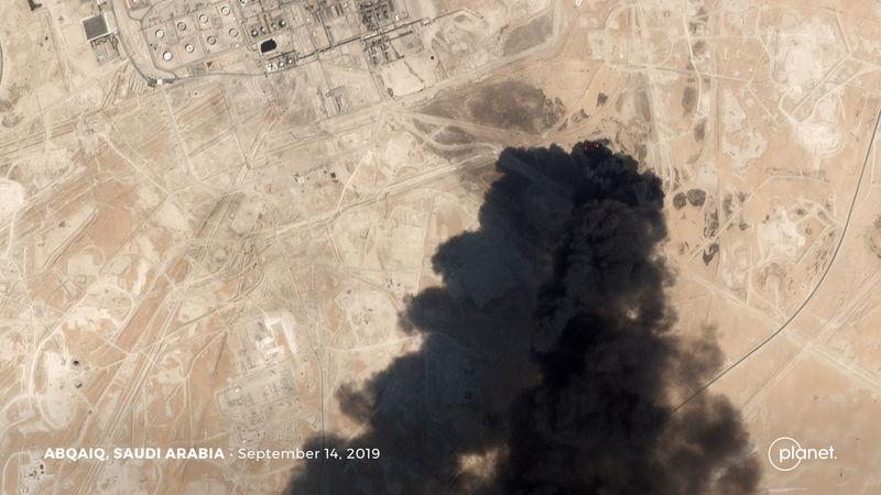 U.S. blames Iran for Saudi oil attack, Trump says 'locked and loaded'