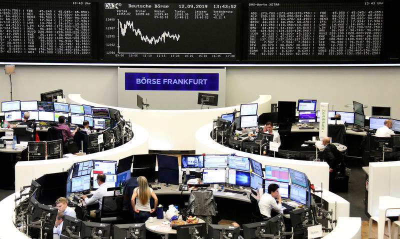 European shares fall after Saudi attacks, bleak China data By Reuters