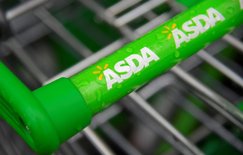 Britain's Asda profit rises in year targeted by Sainsbury's By Reuters