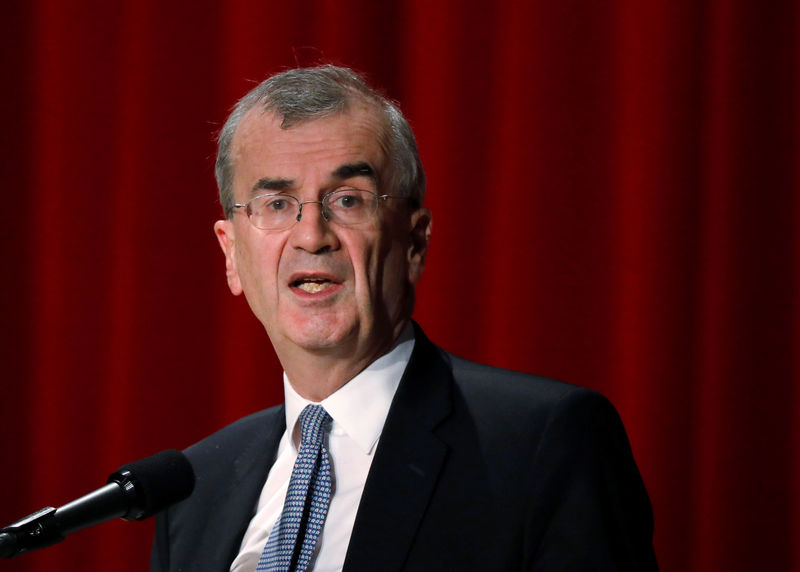 Lasting oil spike could hit growth and inflation: ECB's Villeroy