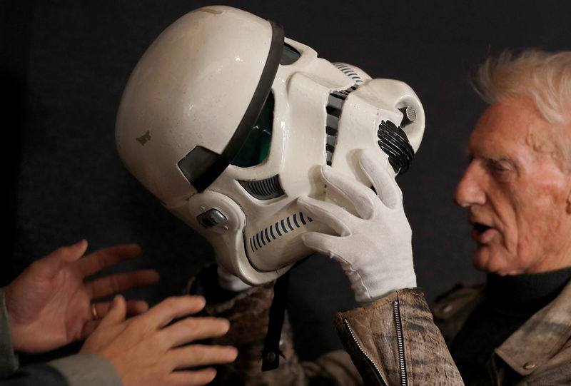 Dinosaurs, droids and holy hand-grenade up for grabs at film auction B