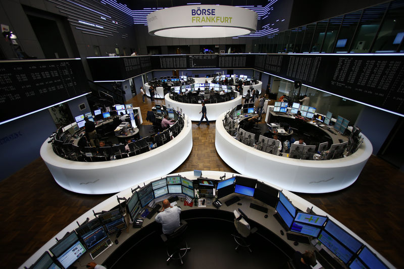 European shares tread water with Fed decision looming