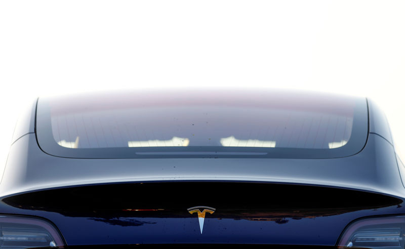 Tesla's Model 3 earns insurance industry's top safety rating By Reuter