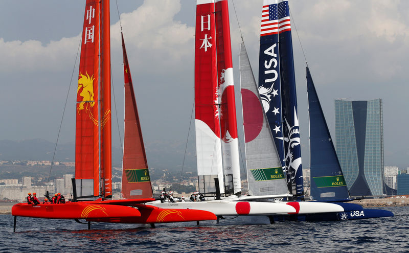 SailGP's 'wizards of Aus' fly high in million dollar final By Reuters