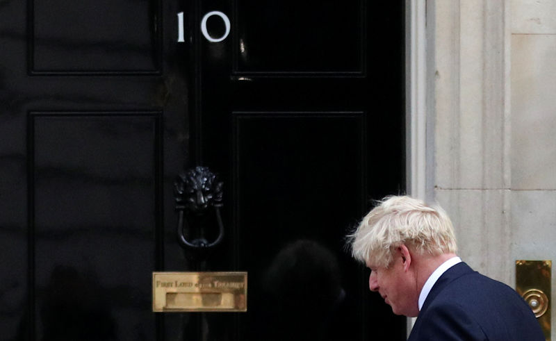 UK court will not rule on Monday morning on PM Johnson's suspension of