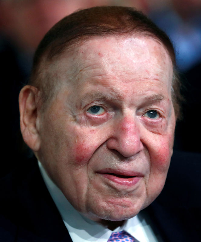 Republican casino magnate Adelson cautioned Trump on trade war with Ch