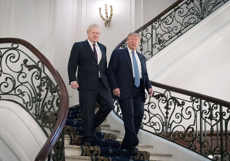 UK-U.S. trade deal to be struck by July, Trump and PM Johnson agree -
