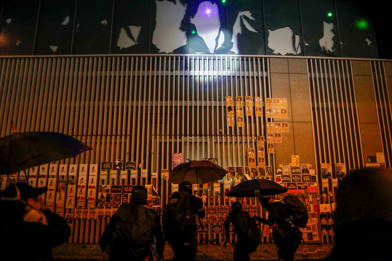 Hong Kong protesters to rally after another night of violence