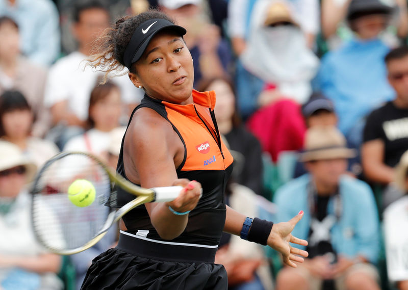 Frustrated Osaka battles past Pegula in Beijing opener By Reuters