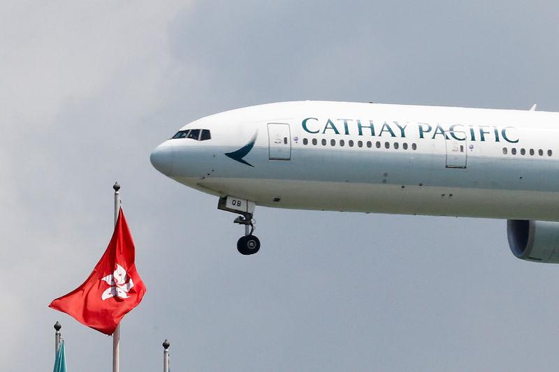 As protests rack Hong Kong, China watchdog has Cathay staff 'walking o