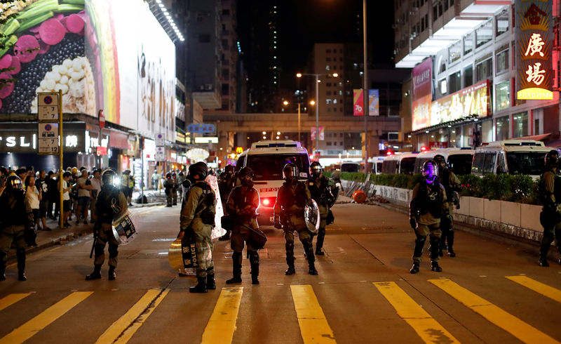 Hong Kong faces more protests after night of violence