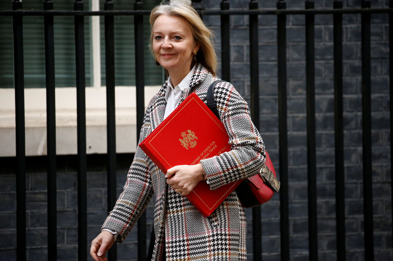 Trade minister Truss backs WTO reform before Brexit By Reuters