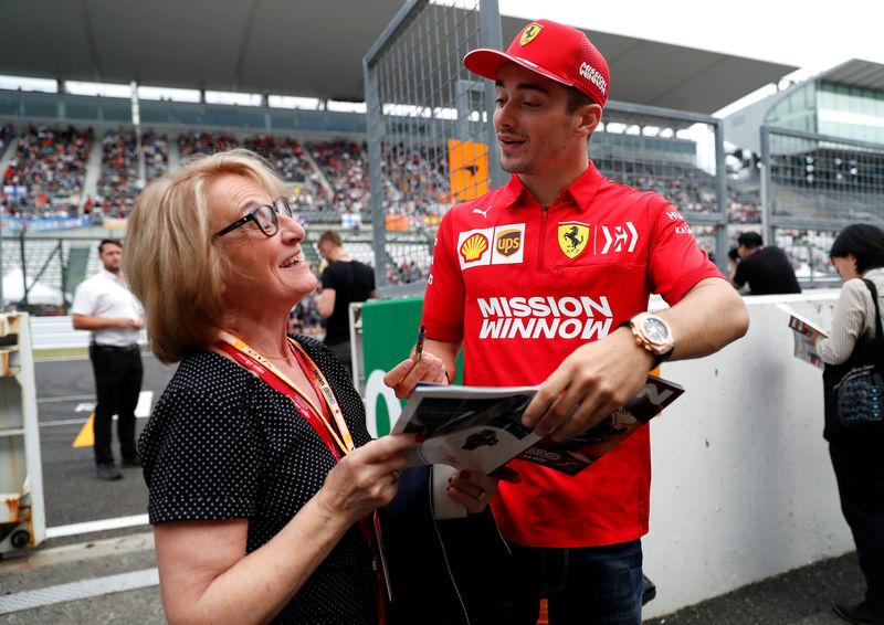 Vettel, Leclerc play down talk of Ferrari rift By Reuters