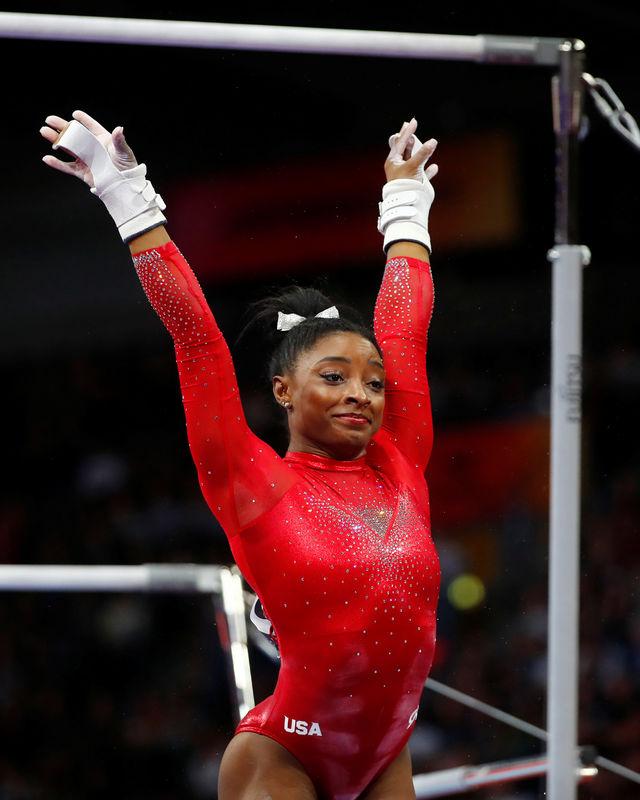 © Reuters. 2019 World Artistic Gymnastics Championships
