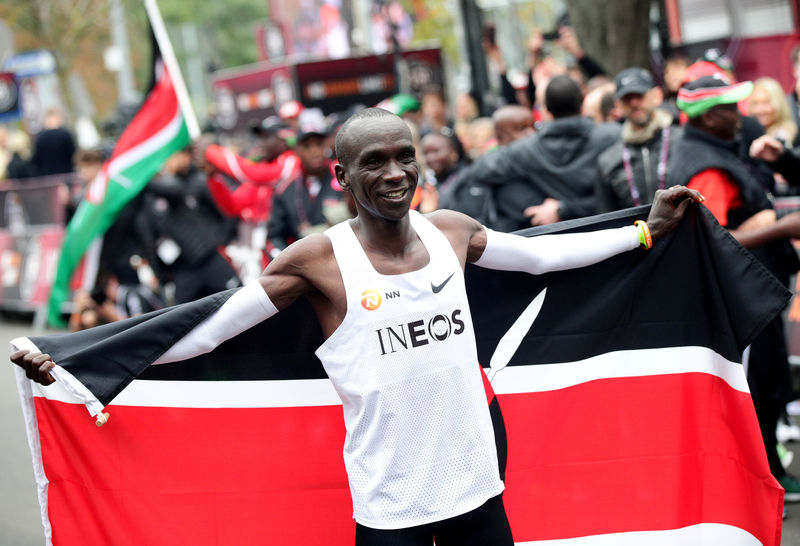 Kipchoge yet to make Tokyo 2020 plans, targets full recovery By Reuter