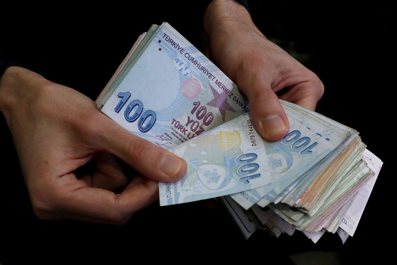 Sanctions stress makes Turkey's lira October's worst world currency By