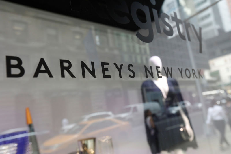 Barneys nears bankruptcy deal with Authentic Brands, Saks owner: sources