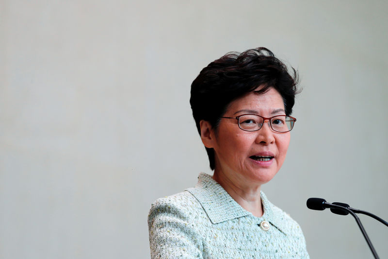 Hong Kong leader rules out concessions in face of escalating violence