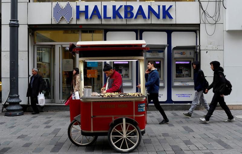 Turkey's Halkbank dismisses U.S. charges, Erdogan calls them 'ugly'