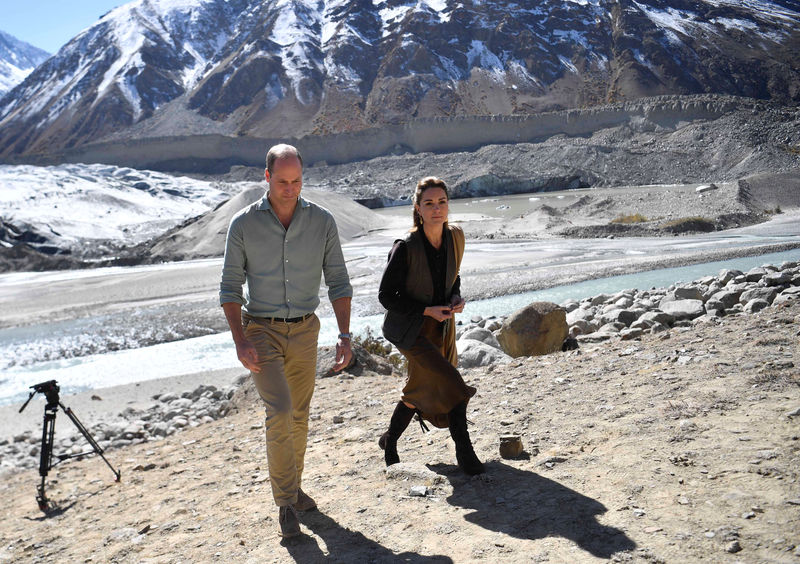 Prince William and wife Kate see impact of climate change at Pakistan