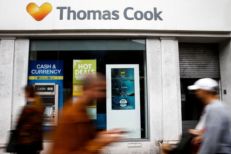 Thomas Cook Germany withdraws bridging loan application: liquidator By