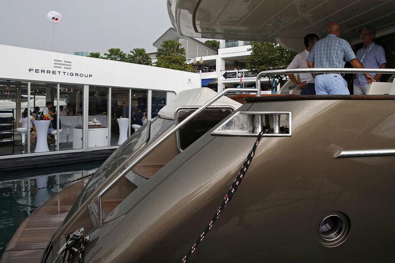 Yacht maker Ferretti's cancellation caps dismal European IPO season By