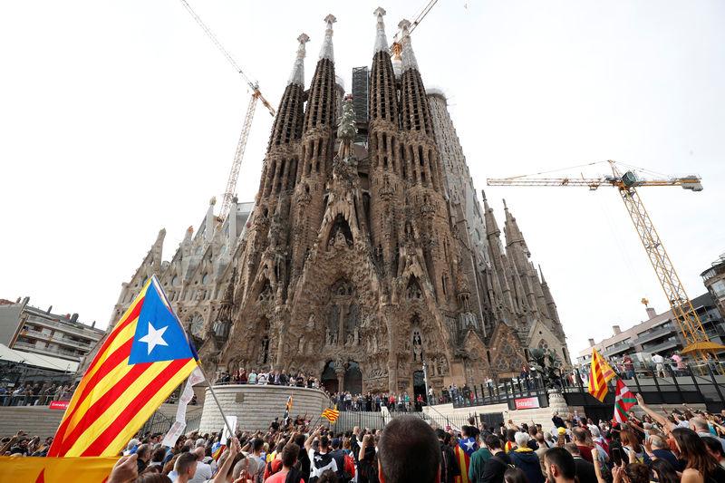 © Reuters. Catalonia's general strike