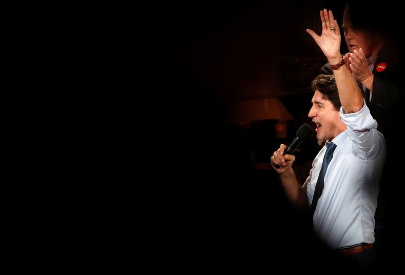 Canada's Trudeau, his 'sunny ways' darkened by scandals, seeks to reta