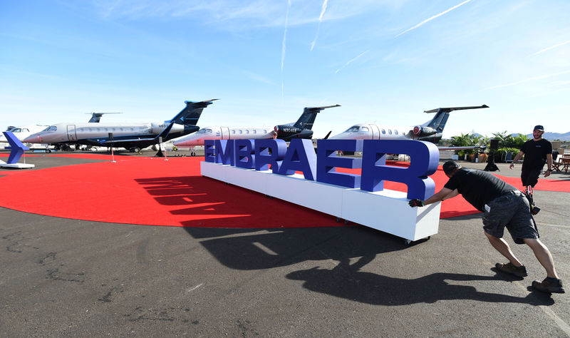 Embraer lands $1.4 billion corporate plane order as business jet show