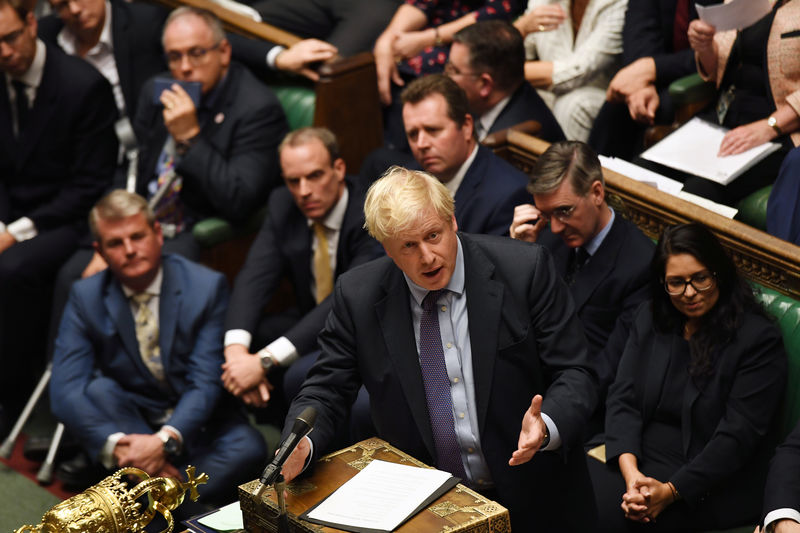 EU moves towards Brexit delay as PM Johnson seeks election to break im