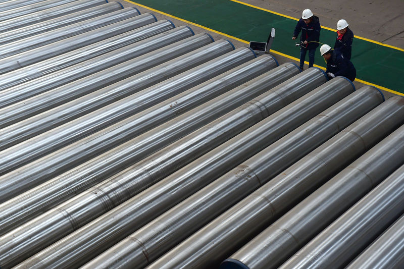 China's semi-finished steel imports surge on scrap ban By Reuters