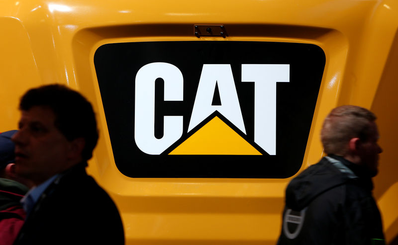 Caterpillar cuts profit outlook as China sales slump By Reuters