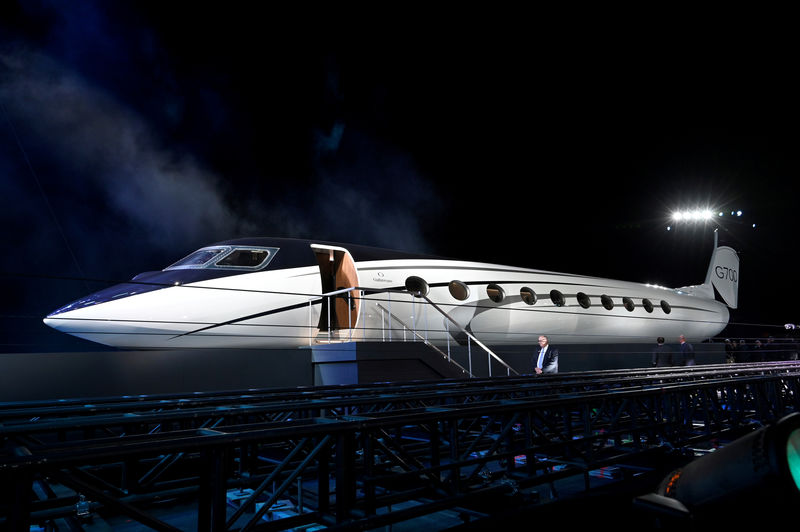 General Dynamics profit rises 7.3% on higher Gulfstream deliveries By
