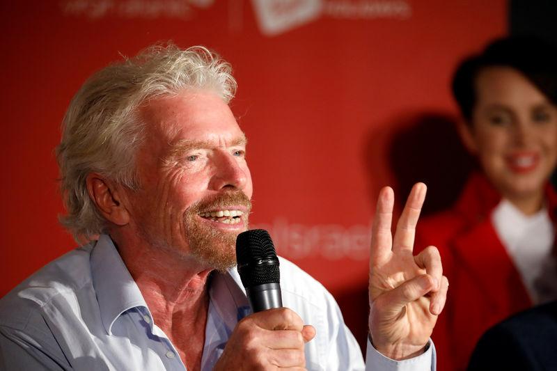 Second Brexit referendum would keep Britain in EU - Virgin's Branson B